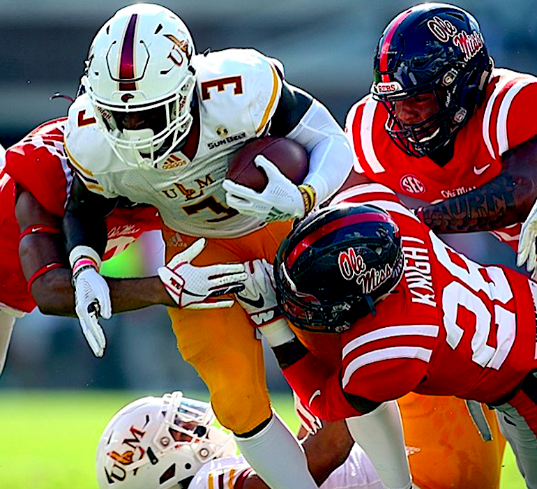 Ole Miss true freshman Tylan Knight excited about move to defense