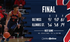 Ole Miss grabs big road win over Illinois State, 81-74