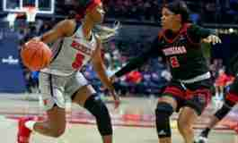 Rebels defeat Louisiana on Kids Day, 79-57