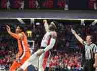 Terence Davis notches double-double in Rebels' 82-67 win over No. 11 Auburn