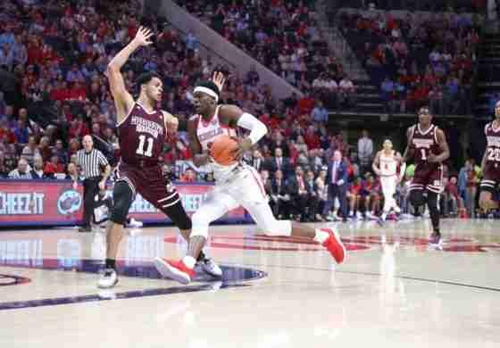 Second-half surge gives No. 22 MSU win over Rebels