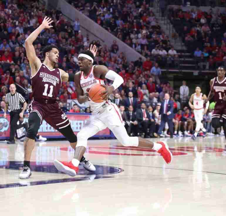 Second-half surge gives No. 22 MSU win over Rebels