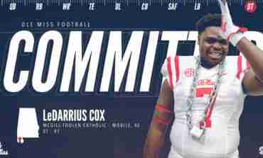 Rebels flip DT LeDarrius Cox from the Vols, hold off Auburn for standout lineman
