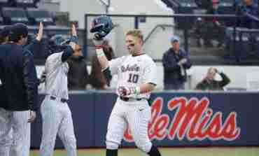 Rebels notch 19 hits in 15-3 win over Arkansas State