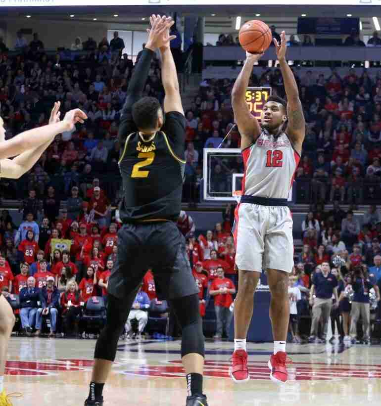 Ole Miss defeats Missouri 75-65 for Rebels' fourth straight victory