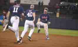 Late surge propels Rebels in 5-4 walk-off win over Aggies in 11th inning