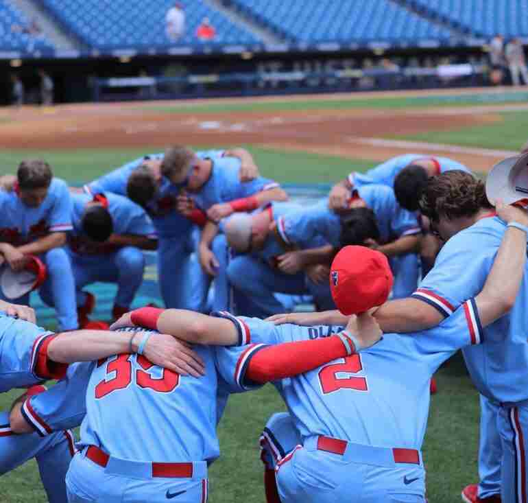Comeback Victory Sends Rebels to SEC Tournament Semifinals