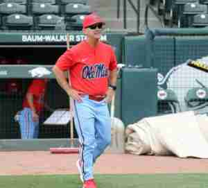 Ole Miss head coach Mike Bianco