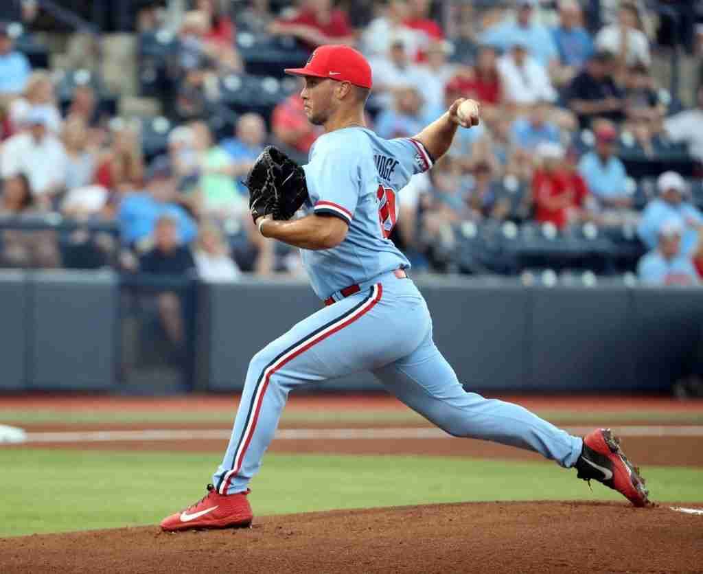 Ole Miss pitcher Will Ethridge