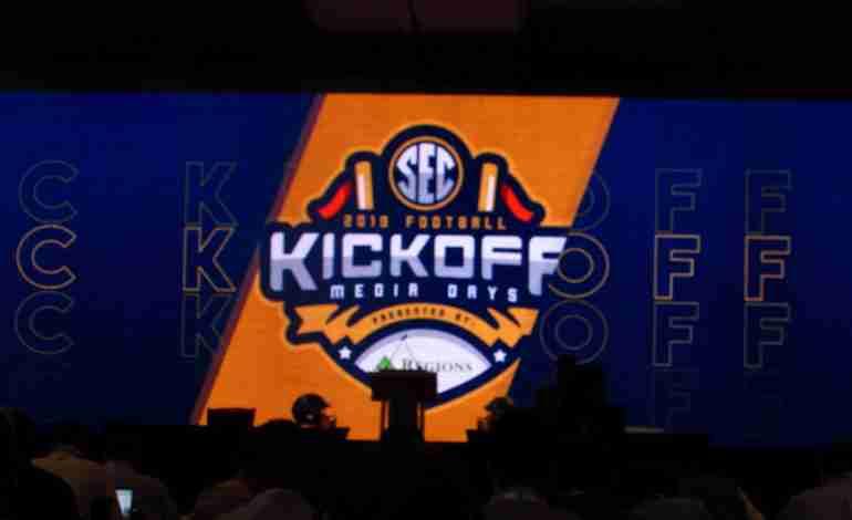 Head Coach Matt Luke, Rebels Take the Stage at SEC Media Days