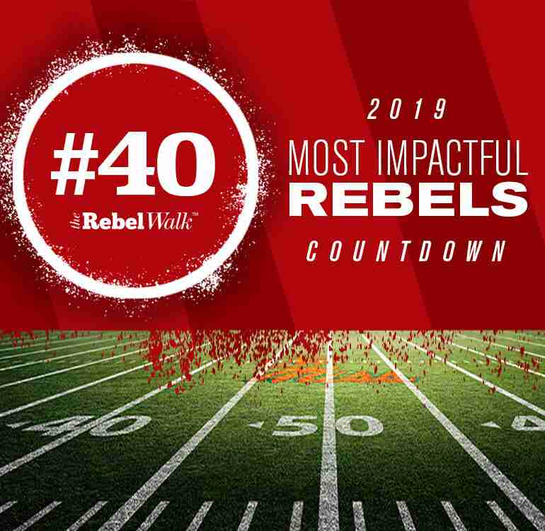 Most Impactful Rebels for 2019: No. 40 Vernon Dasher