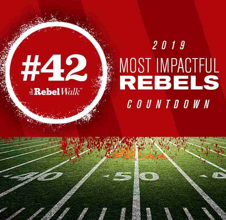 Most Impactful Rebels for 2019: No. 42 D'Vaughn Pennamon