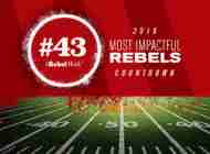 Most Impactful Rebels for 2019: No. 43 C.J. Miller