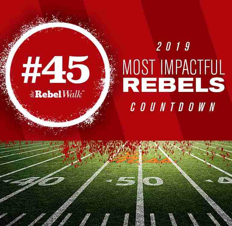 Most Impactful Rebels for 2019: No. 45 Sincere David