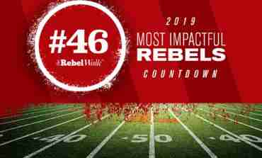 Most Impactful Rebels for 2019: No. 46 Mac Brown