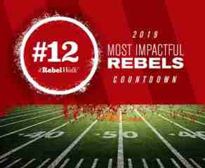 Most Impactful Rebels for 2019: No. 12 Qaadir Sheppard