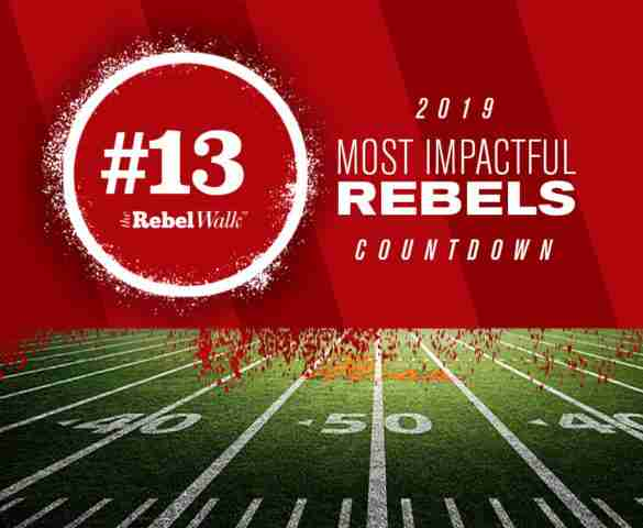 Most Impactful Rebels for 2019: No. 13 Jacquez Jones
