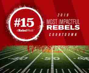 Most Impactful Rebels for 2019: No. 15 Jerrion Ealy