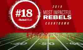 Most Impactful Rebels for 2019: No. 18 Myles Hartsfield