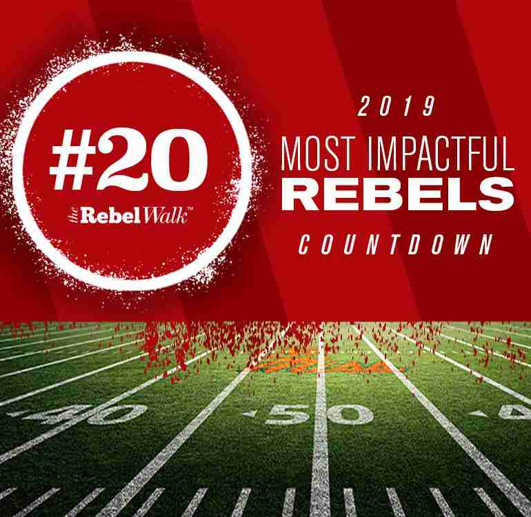 Most Impactful Rebels for 2019: No. 20 Jonathan Haynes