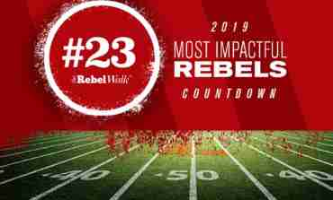 Most Impactful Rebels for 2019: No. 23 Bryce Mathews