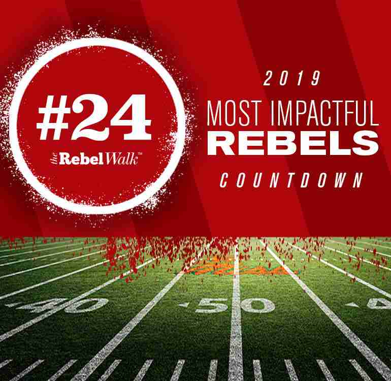 Most Impactful Rebels for 2019: No. 24 Royce Newman