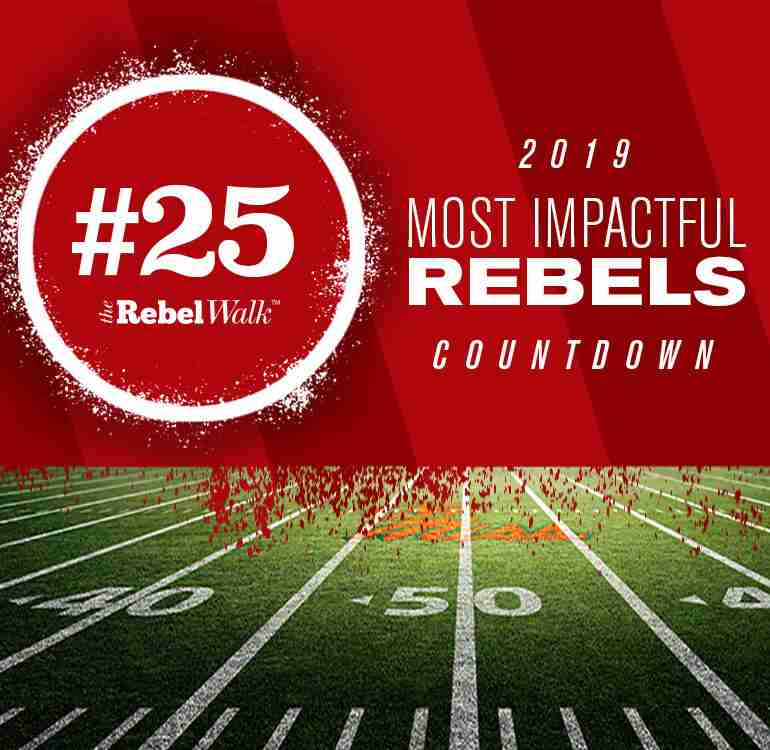 Most Impactful Rebels for 2019: No. 25 Tylan Knight