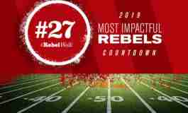 Most Impactful Rebels for 2019: No. 27 Octavious Cooley