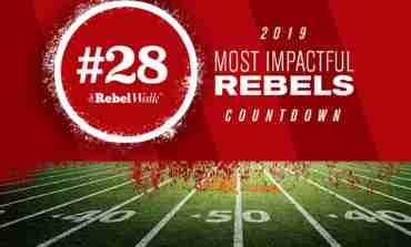 Most Impactful Rebels for 2019: No. 28 Jalen Julius