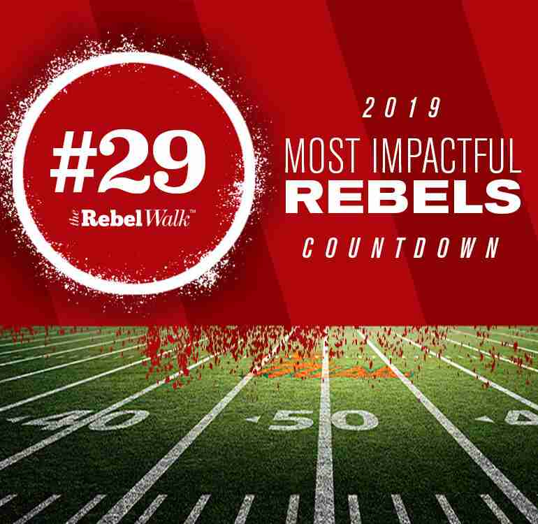 Most Impactful Rebels for 2019: No. 29 Luke Logan