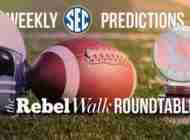 Rebel Walk Roundtable: Our Week 3 SEC Picks