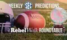 The Rebel Walk Roundtable: Our Week 8 SEC Picks