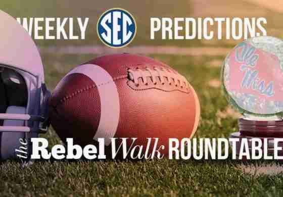 The Rebel Walk Roundtable: Our Week 9 SEC Picks