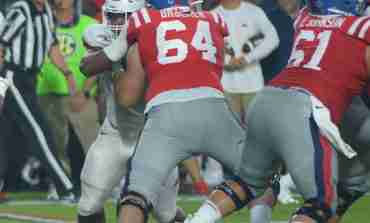 Rebels' True Freshman OL Nick Broeker excited about playing time