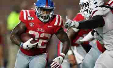 Running backs Coach Derrick Nix pleased with depth of Rebels' backfield