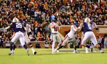 Ole Miss comeback attempt falls short in 20-14 loss at No. 11 Auburn