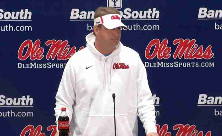WATCH: Ole Miss head coach Lane Kiffin weekly press conference