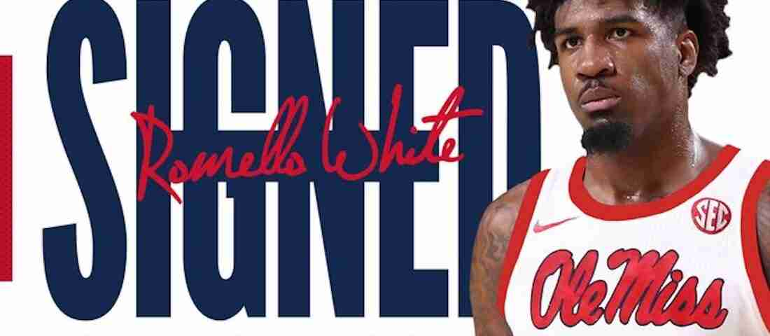 Ole Miss Adds Top Grad Transfer Romello White