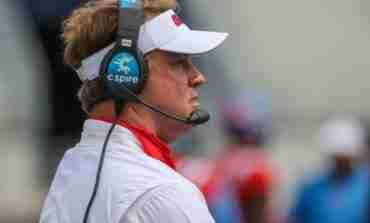 WATCH: Ole Miss head coach Lane Kiffin, OL Nick Broeker and Reece McIntyre, DL K.D. Hill