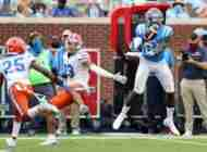 Ole Miss tight end Kenny Yeboah adjusting quickly to SEC