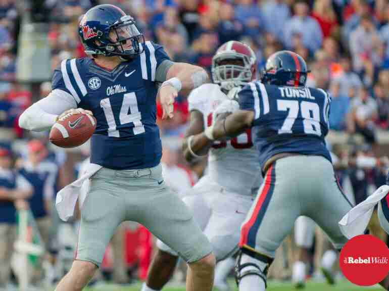 Bo Wallace reminisces about leading Ole Miss to a win over Alabama