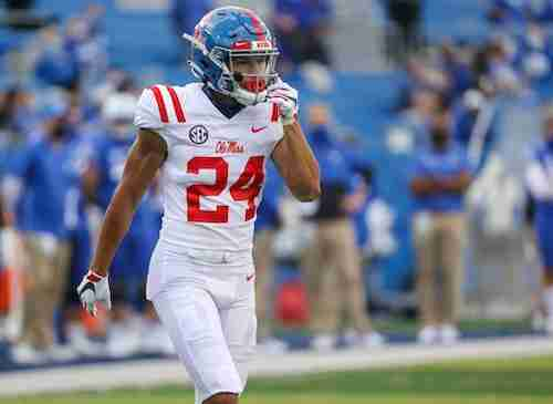Ole Miss DB Deane Leonard adjusting to life in the SEC