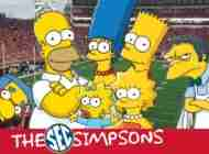 SEC Schools as Simpsons Characters