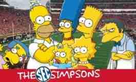 SEC Schools as Simpsons Characters