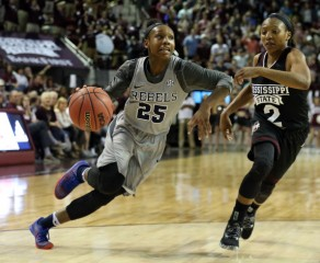 Rebels' guard Alissa Alston sees a lot of fight in her Ole Miss teammates