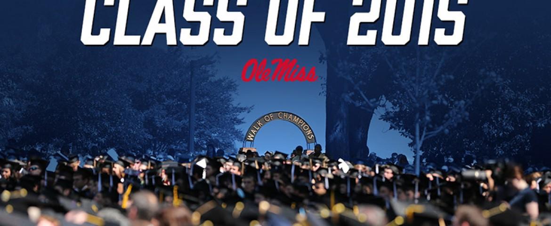 Ole Miss student-athletes celebrate graduation