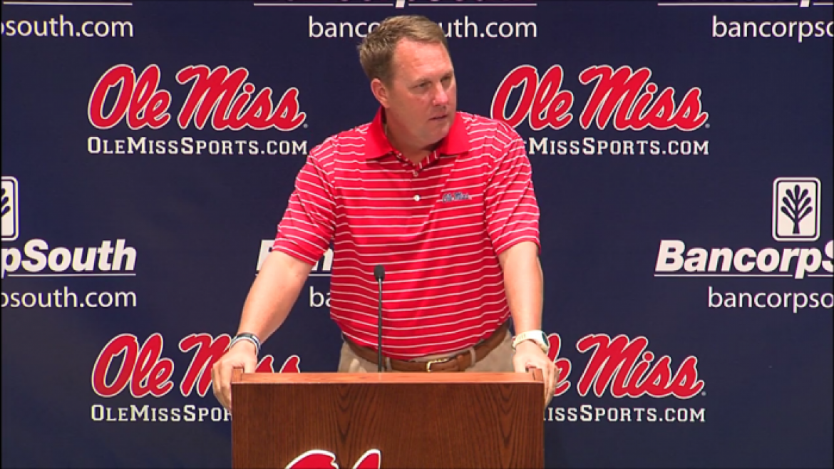 Hugh Freeze expects everyone healthy by fall camp