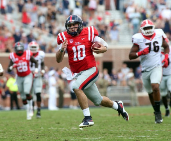 All cylinders firing for Chad Kelly, Ole Miss offense as Rebels roll over Georgia