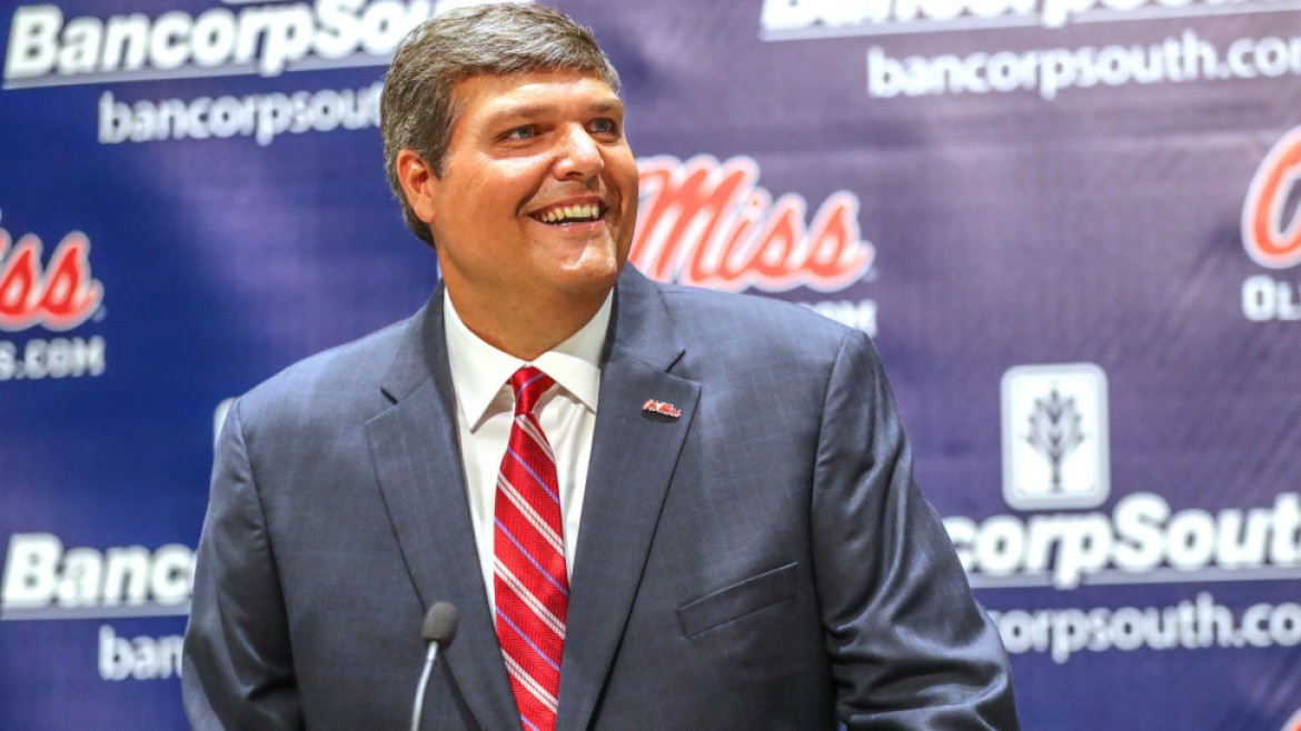 Coach Matt Luke excited about his dream job at Ole Miss