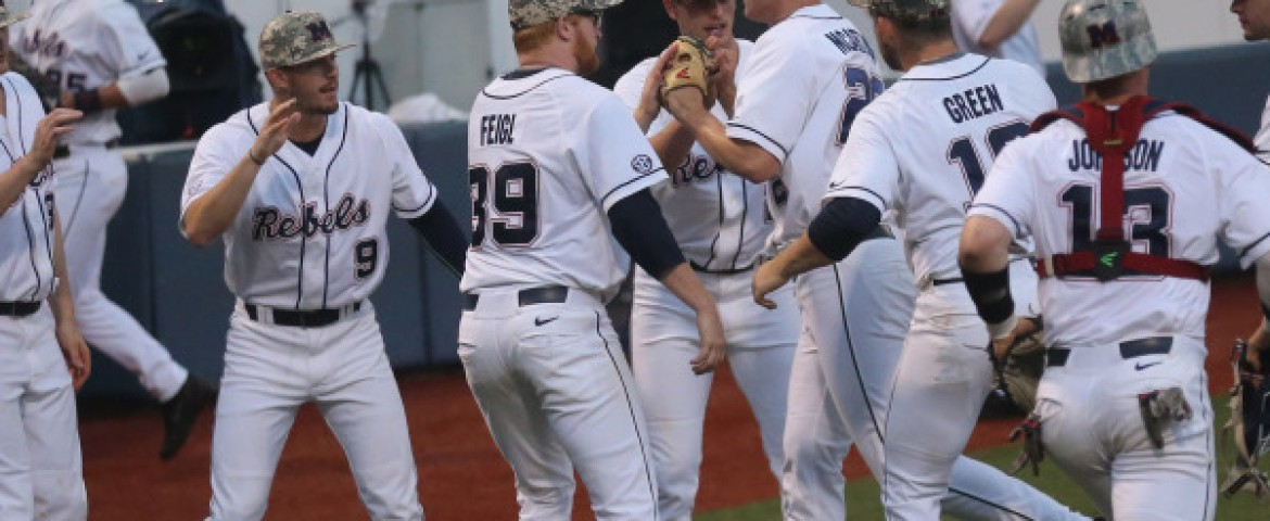 Ole Miss takes series from No. 10 Arkansas